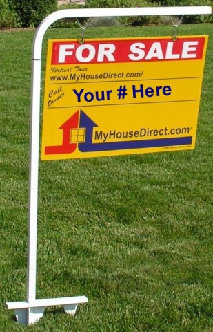 Professionally Designed Sell Your Own Home For Sale Sign